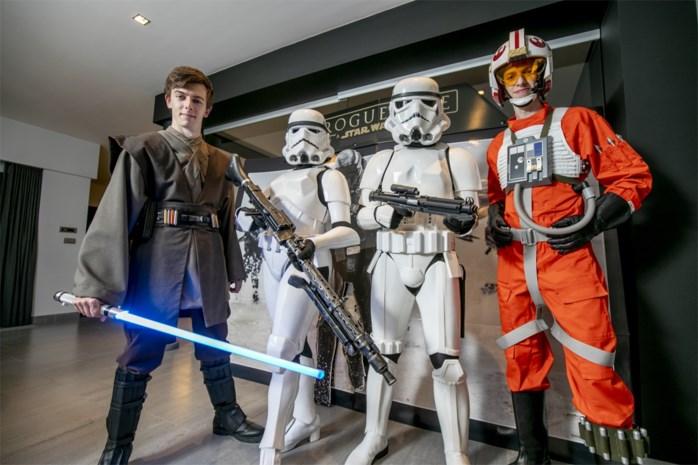 Op zoek naar The Force: Antwerpse familie verzot op Star Wars-outfits
