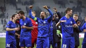 AA Gent kwalificeert zich met tien man voor de knock-outfase van de Europa League na matig gelijkspel in Saint-Etienne