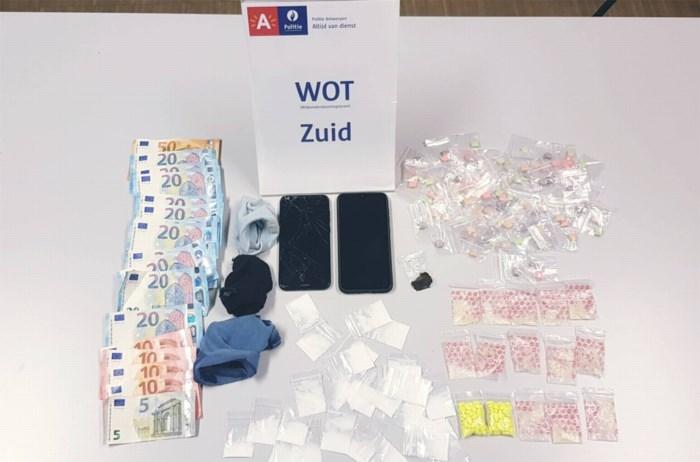 Minderjarige dealers opgepakt in feestzaal op het Kiel