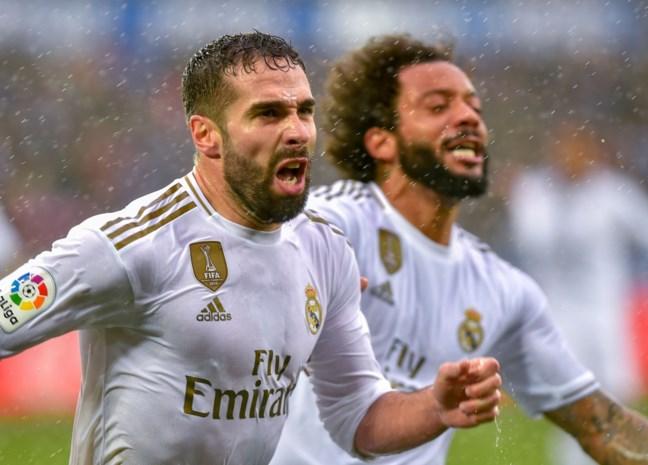 Zonder Courtois en Hazard heeft Real Madrid weinig overschot, maar het wint wel bij Alaves