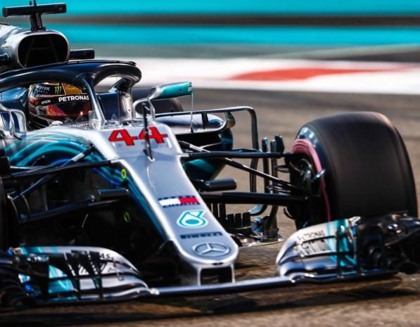 Lewis Hamilton verovert eindelijk nog eens de pole in Abu Dhabi