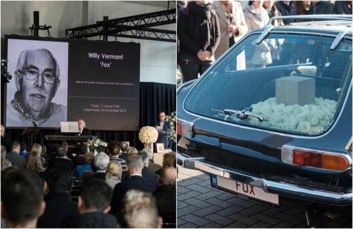 Afscheid van Willy 'Fox' Vermant in Volvo-showroom: mooie woorden van familie, buren en medewerkers van autogroep