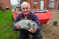 Jos ging in Ierland vissen en kwam met nog nooit eerder geziene vangst thuis