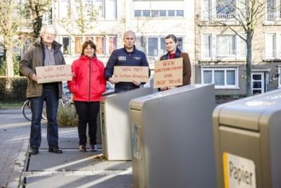 """Sorteerstraatjes staan pal voor de deur in Kriekenhofwijk: """"De stank is vaak niet te harden"""""""