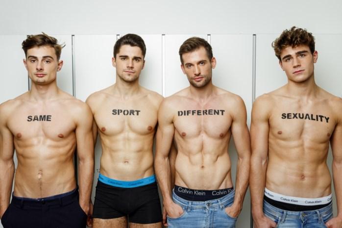 Holebi's in sportclubs: online fotocampagne moet taboe doorbreken