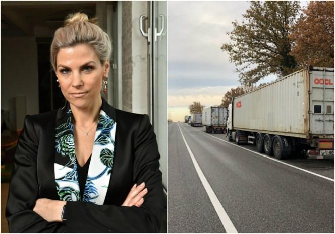Tanja Dexters alweer in opspraak na crash tegen oplegger: ex-Miss België laat zich opnemen