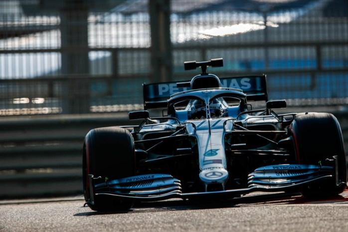 Valtteri Bottas snelste tijdens eerste dag F1-bandentest in Abu Dhabi