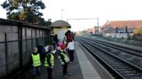 Sint komt naar Kesselse school … per trein