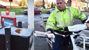 """Danny Vercammen zet na 24 jaar zijn ronde stop: """"Ik heb zelfs kranten rondgebracht bij zeventien graden onder nul"""""""