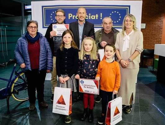 Europees project komt ten einde met prijsuitreiking
