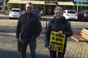 """Geen draagvlak berging kernafval in Kempen zegt Greenpeace: """"Desselaars willen geen nucleair stort in hun regio"""""""