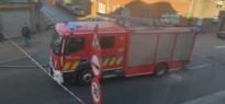 Heirbaan afgesloten wegens gaslek, brandweer doet metingen