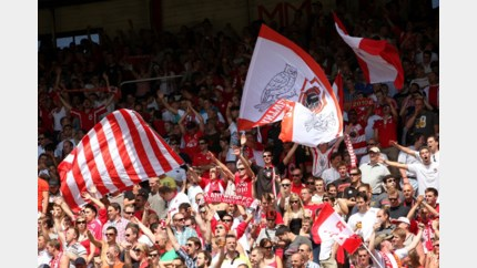 "RAFC-supporter start petitie: ""Verbied trommels op de Bosuil"""