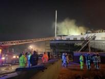 Brand in schip op Hemiksemse scheepswerf