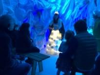 Kerstmagie gaat van start in zes kastelen: 'Het ijs van het kerstparadijs' komt tot leven
