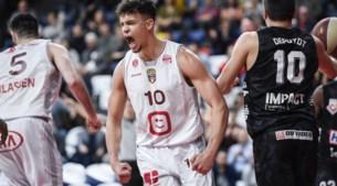 Telenet Giants Antwerp wint na spektakelstuk van Limburg United en vat tweede speelronde sterk aan