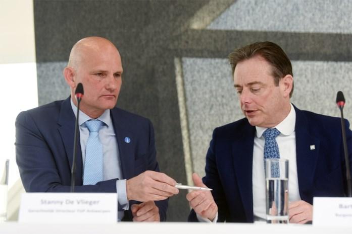 Grote baas FGP Antwerpen wordt verbindingsofficier in Verenigd Koninkrijk
