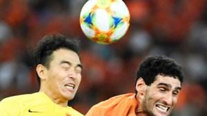 Marouane Fellaini verliest Chinese bekerfinale