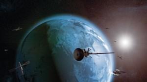Belgische satelliet beperkt ruimtepuin