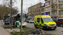 Trams botsen op Gitschotellei: twee gewonden