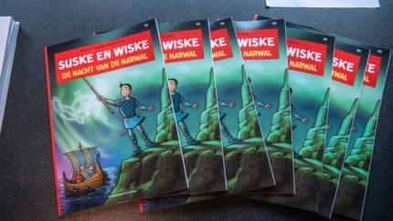 Mythische narwal speelt hoofdrol in 350ste 'Suske en Wiske'