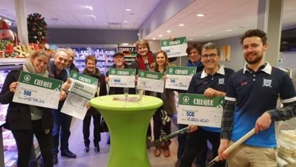 Klanten bepalen aan welke verenigingen supermarkt ruim 4.000 euro schenkt