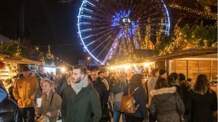Reuzenrad 'Winter in Antwerpen' stilgelegd na stroompanne