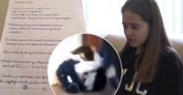 """In elkaar geslagen Lindsay (13) schrijft emotionele brief aan schooldirectie: """"Ik wil mij veilig voelen"""""""