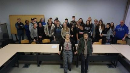 Leerlingen De Vesten bereiden zich voor op inleefreis naar Auschwitz