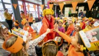 """Kaatje viert haar verjaardag op basisschool De Lotusbloem: """"Ik kijk elke dag naar haar op de tv"""""""