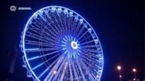 Reuzenrad aan Steenplein draait weer na panne
