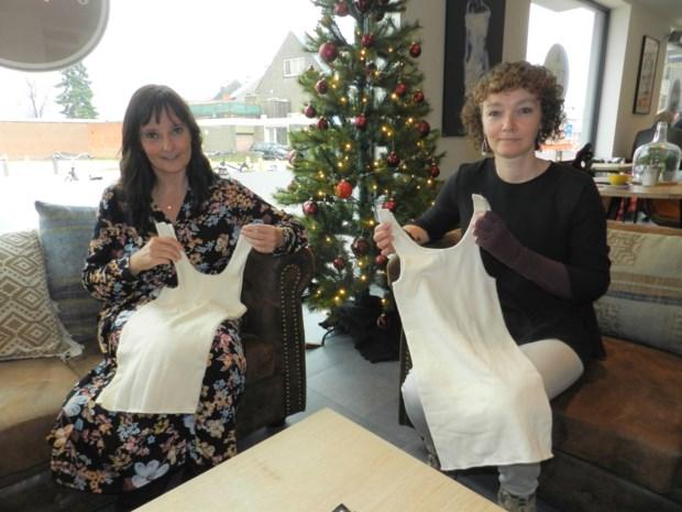 Kersverse lotgenotengroep Belenos maakt hemdjes voor vrouwen met borstamputatie