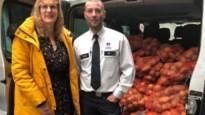 540 kilogram in beslag genomen aardappelen en uien geschonken aan Leger des Heils