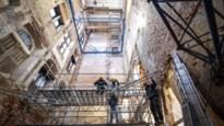 Renovatie stadhuis loopt vertraging op omdat 16de-eeuwse steunmuur scheef staat