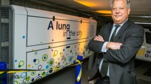 """'Long' zuivert lucht in Antwerpse parkeergarage: """"Bijna de helft minder fijnstof"""""""
