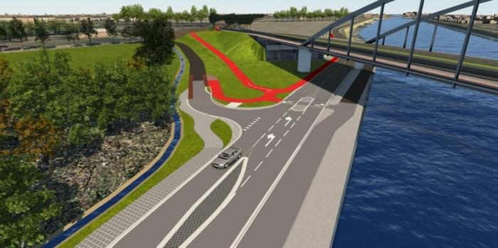 Veiliger fietsen langs en naar Houtlaan: gemeente vernieuwt fietspad langs 's-Gravenwezelsteenweg
