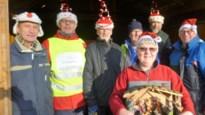 Museumbus en kerststal uit 'Duizend-en-een-nacht' op kerstmarkt