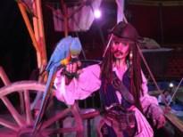 Captain Jack (Sparrow) treedt 26 keer op in Circus Boxtalino in De Schorre