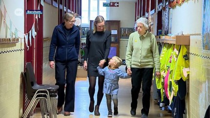Uniek: vier generaties op een rij actief op dezelfde school
