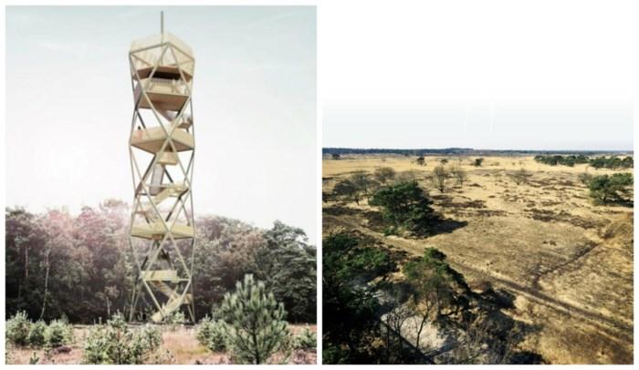 Kalmthoutse Heide krijgt tegen 2021 nieuwe brandtoren van 42 meter hoog