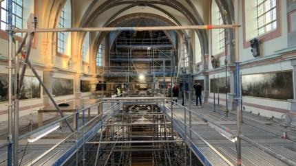 Tegen Kerstmis 2020 schittert Begijnhofkerk opnieuw in volle glorie