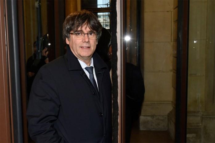 Puigdemont vandaag voor Brusselse rechter