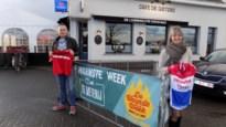 Café De Gieterij verkoopt gesigneerde truitjes van voetbalclub Antwerp en veldrijder van der Poel voor goede doel