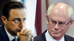 """Herman Van Rompuy (CD&V) over Bart De Wever (N-VA): """"Hij slaat wild om zich heen en straalt machteloosheid uit"""""""