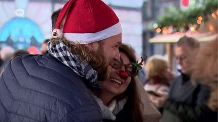 Winter in Antwerpen lokt een massa volk naar de stad