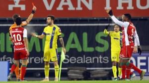 Pol Garcia van STVV mag spelen tegen Antwerp ondanks rode kaart in beker