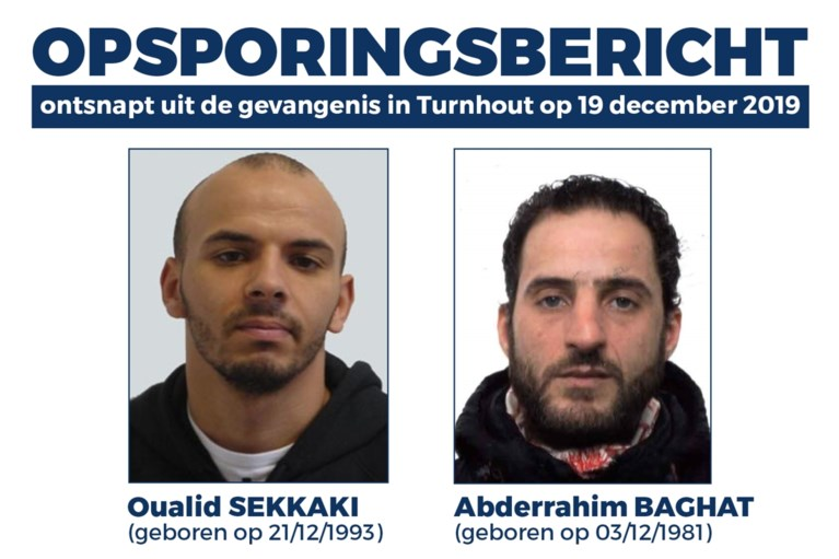 Naar deze twee ontsnapte gevangenen is de politie nog op zoek