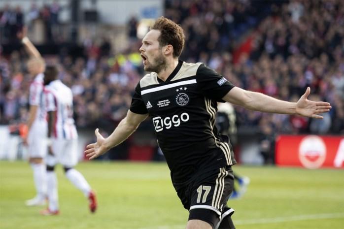 Ajax-verdediger Daley Blind kampt met ontstoken hartspier