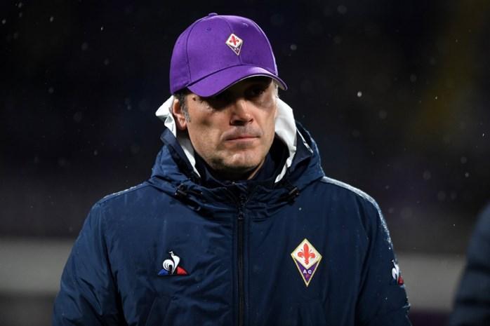 Fiorentina zet trainer Vincenzo Montella aan de kant na nieuwe nederlaag