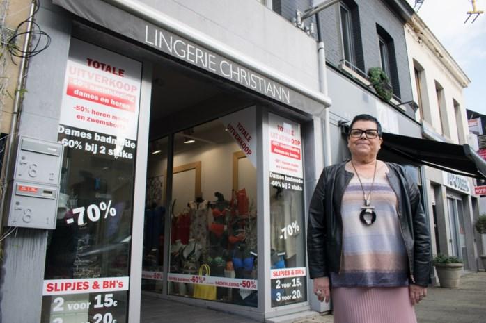 """Zaakvoerster Lingerie Christiann vindt opvolgers: """"Binnenkort hoop ik terrasjes te doen met de klanten"""""""